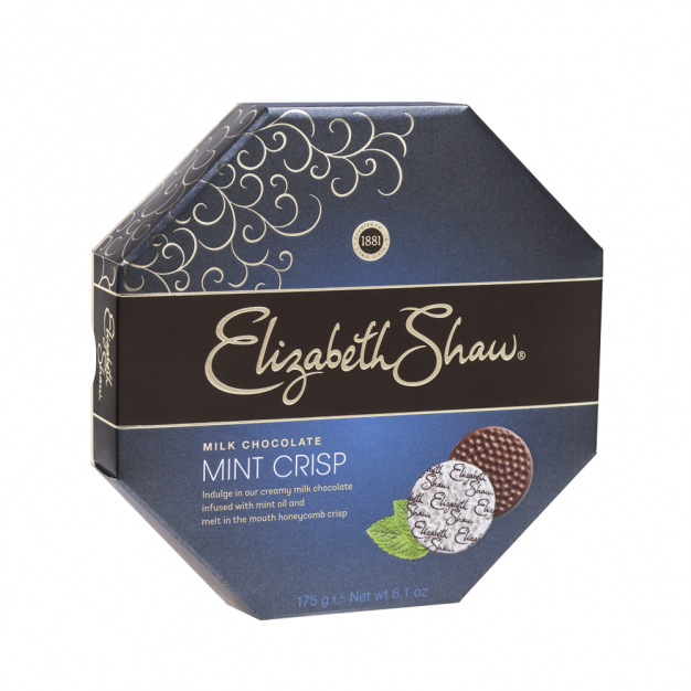 Elizabeth Shaw, Milk Mint Crisp Chocolates